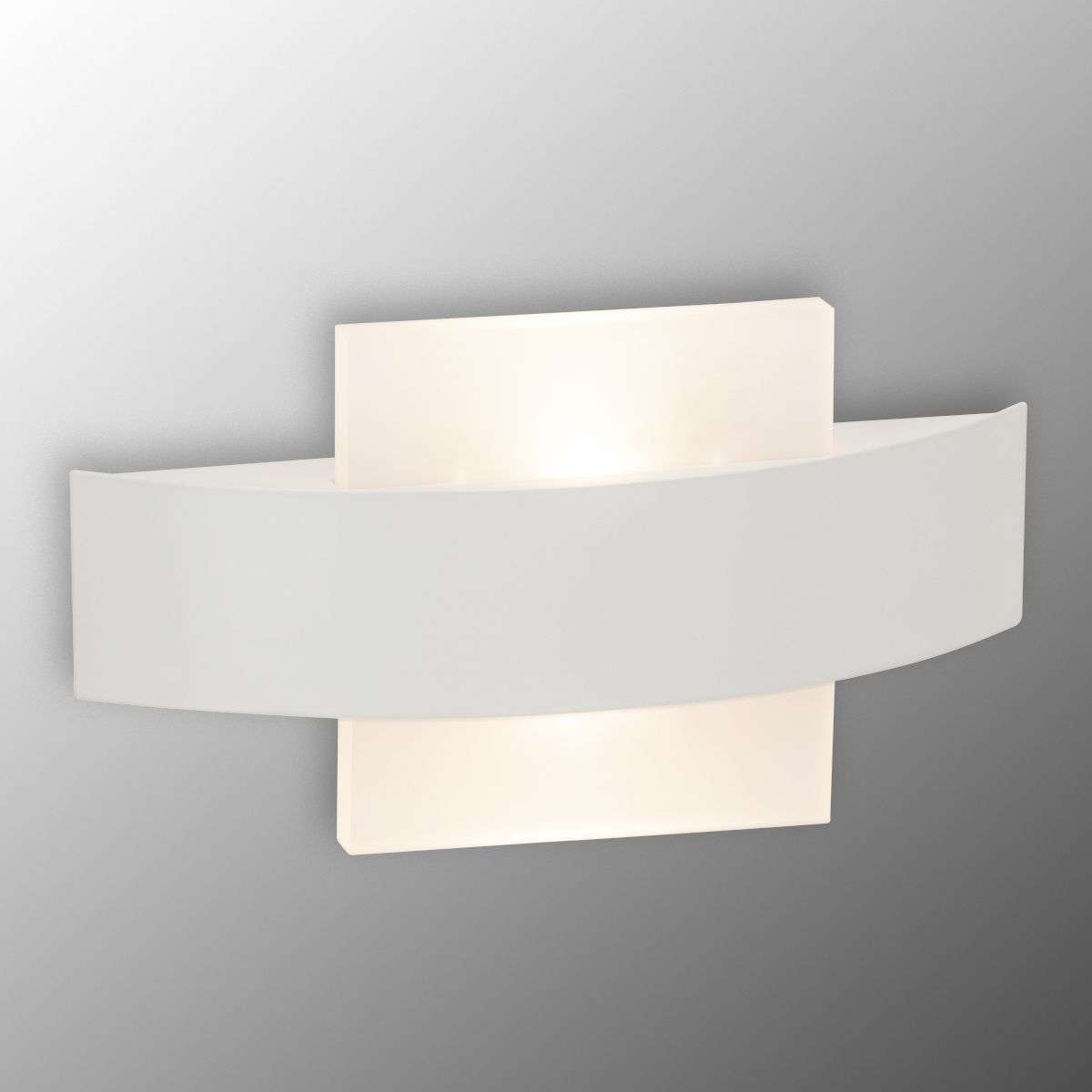 Solution LED wall light, square diffuser-1509033-31