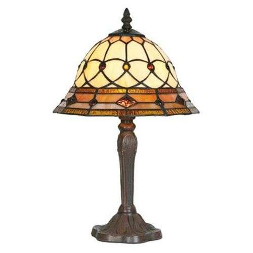 Table lamp ANTHEA in Tiffany style-1032111-31