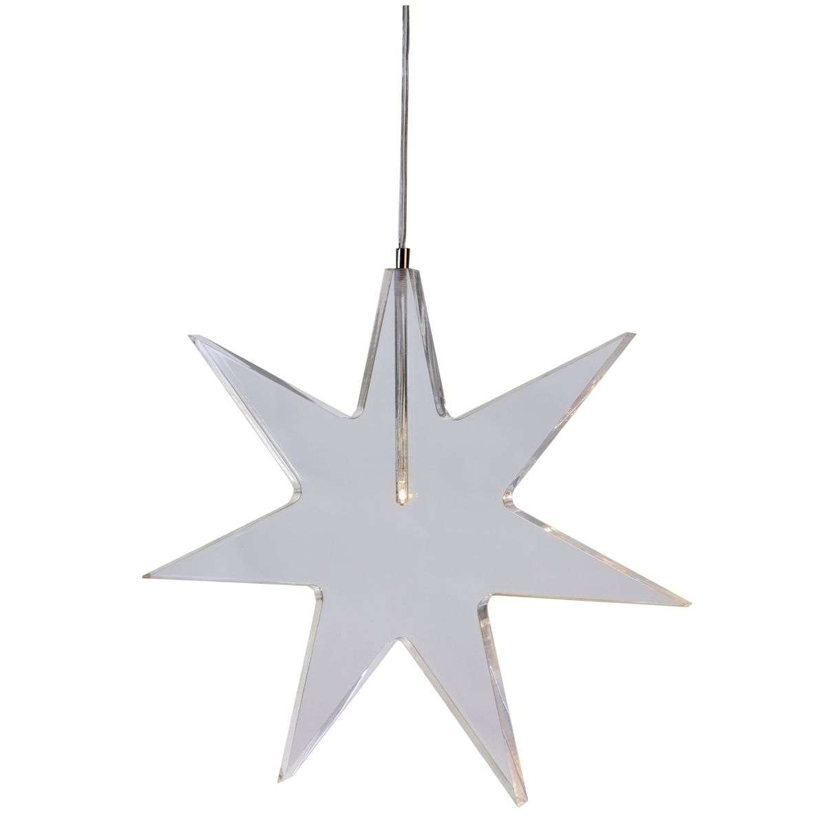 Transparent LED star decorative light Karla-1522505-31