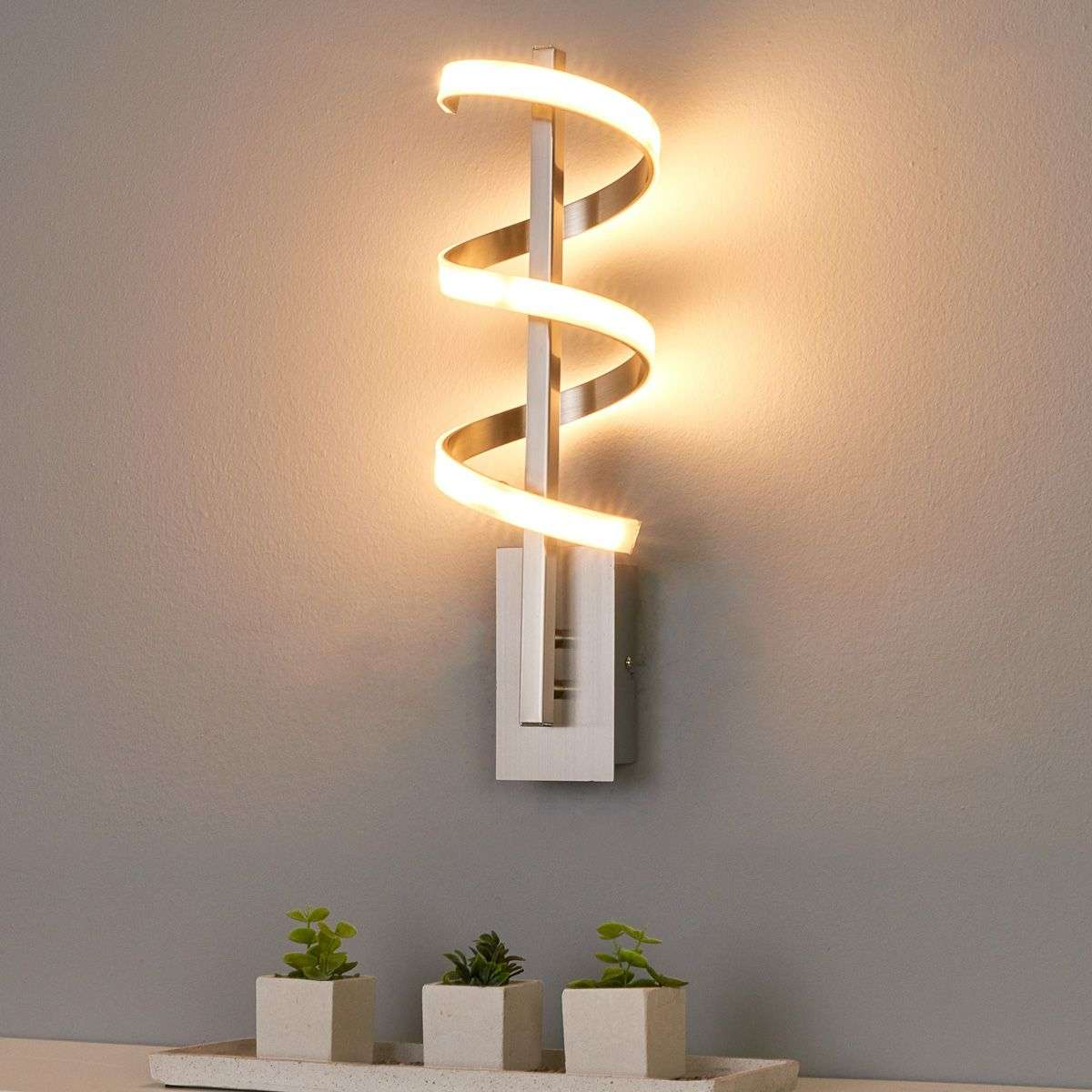 Twisted led wall light pierre lights twisted led wall light pierre aloadofball Gallery