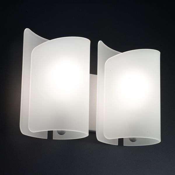 Unusual wall light papiro 2 bulb lights unusual wall light papiro 2 bulb satin finished 8525229 31 aloadofball