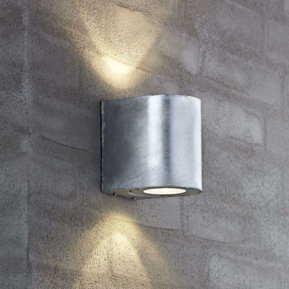 Versatile Canto Led Outdoor Wall Light Steel