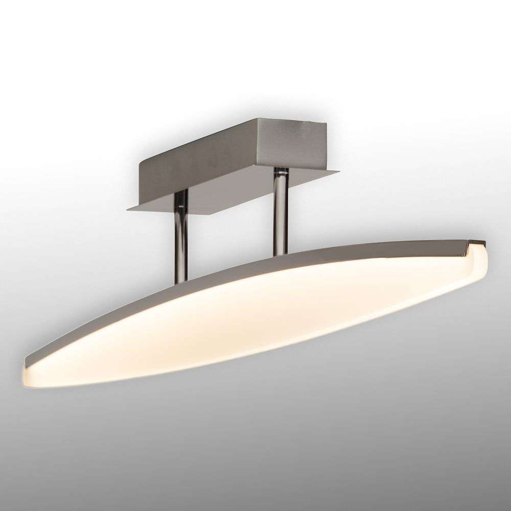 View LED ceiling lamp with curved lampshade-1509028-31