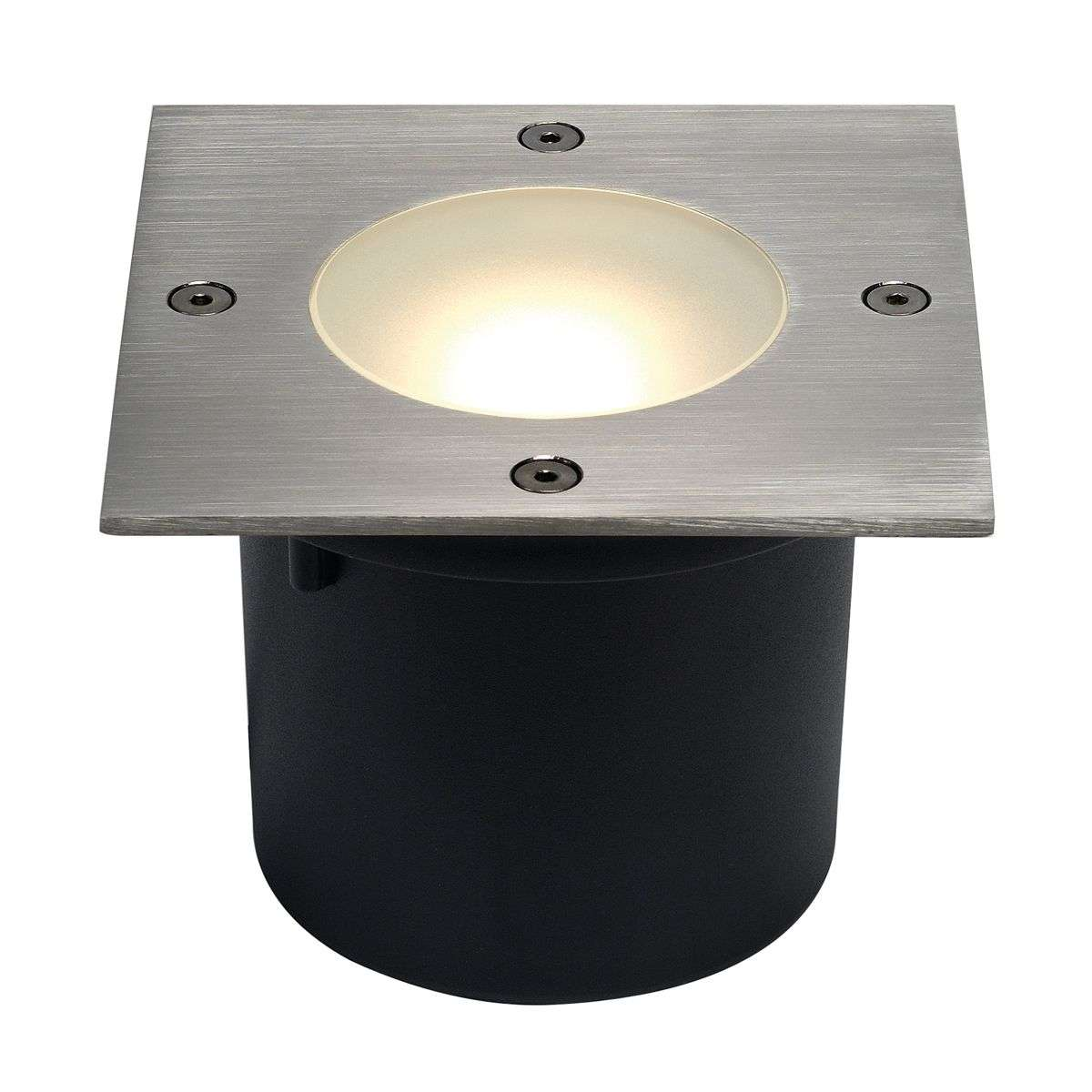wetsy disk led in ground spot square. Black Bedroom Furniture Sets. Home Design Ideas