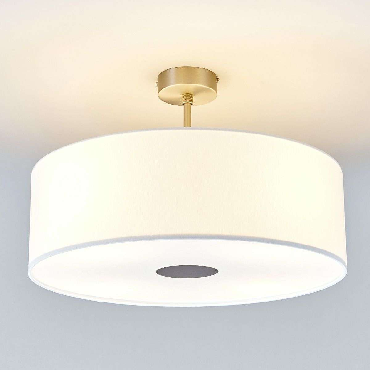 Ceiling Lights Germany : White gala led ceiling light made in germany lights