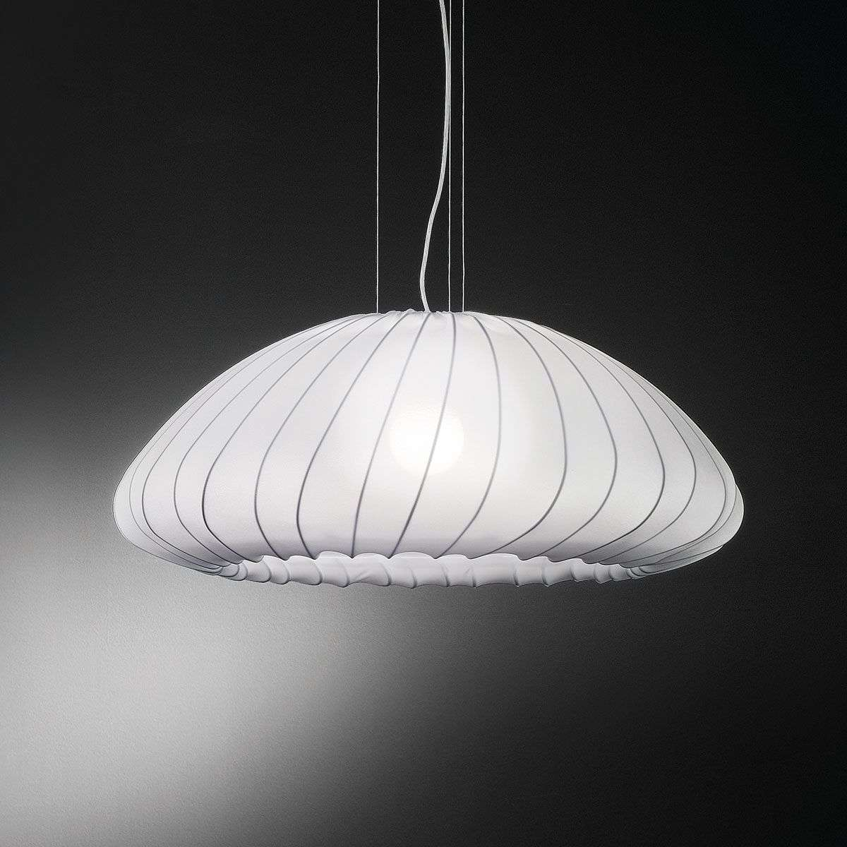 White pendant light Muse-1088016-31