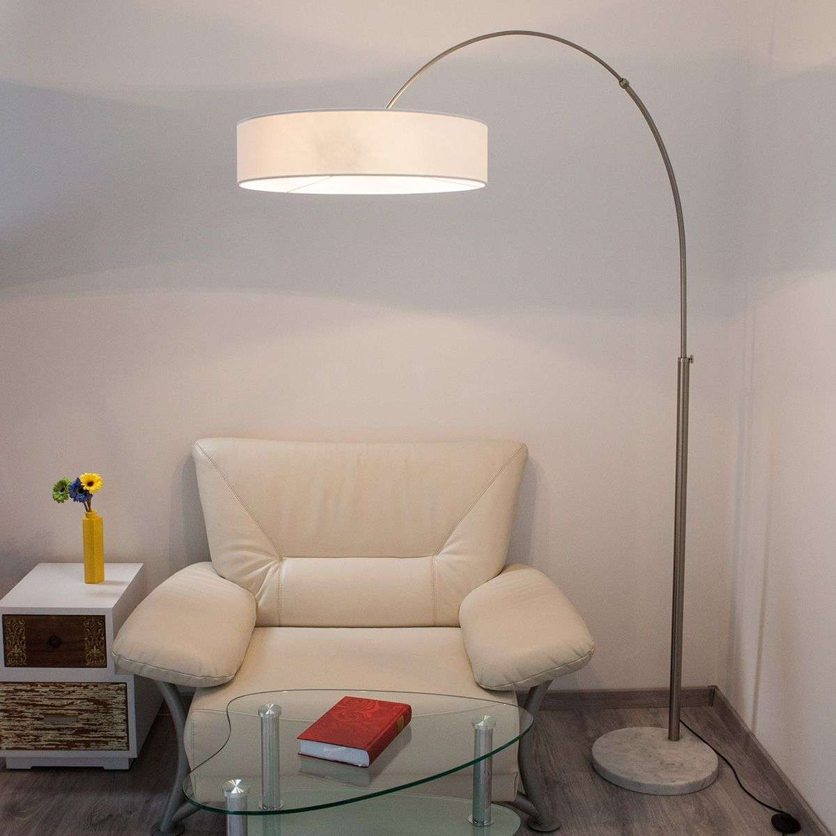 White Shing fabric floor lamp-9620142-31