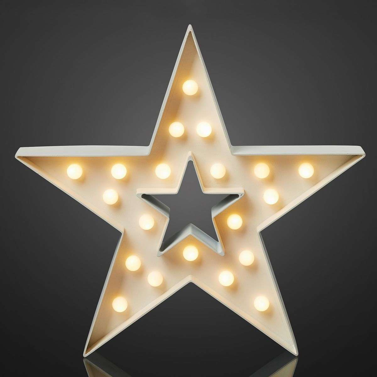 White Star LED Decorative Light