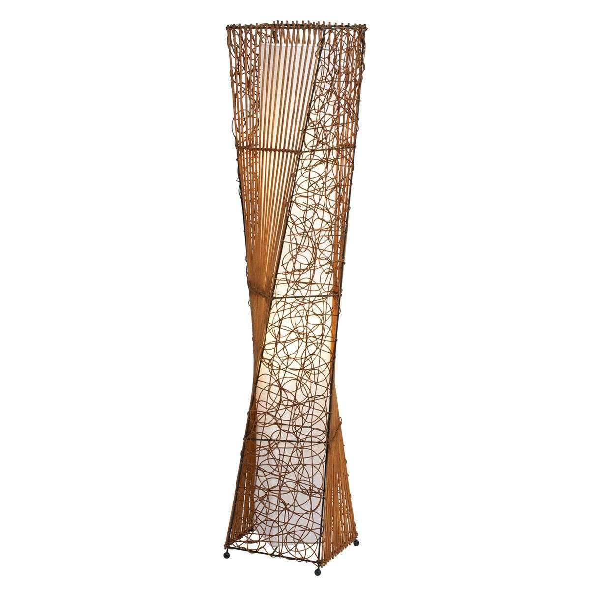 ZIMBO floor lamp made of rattan-7007399-31
