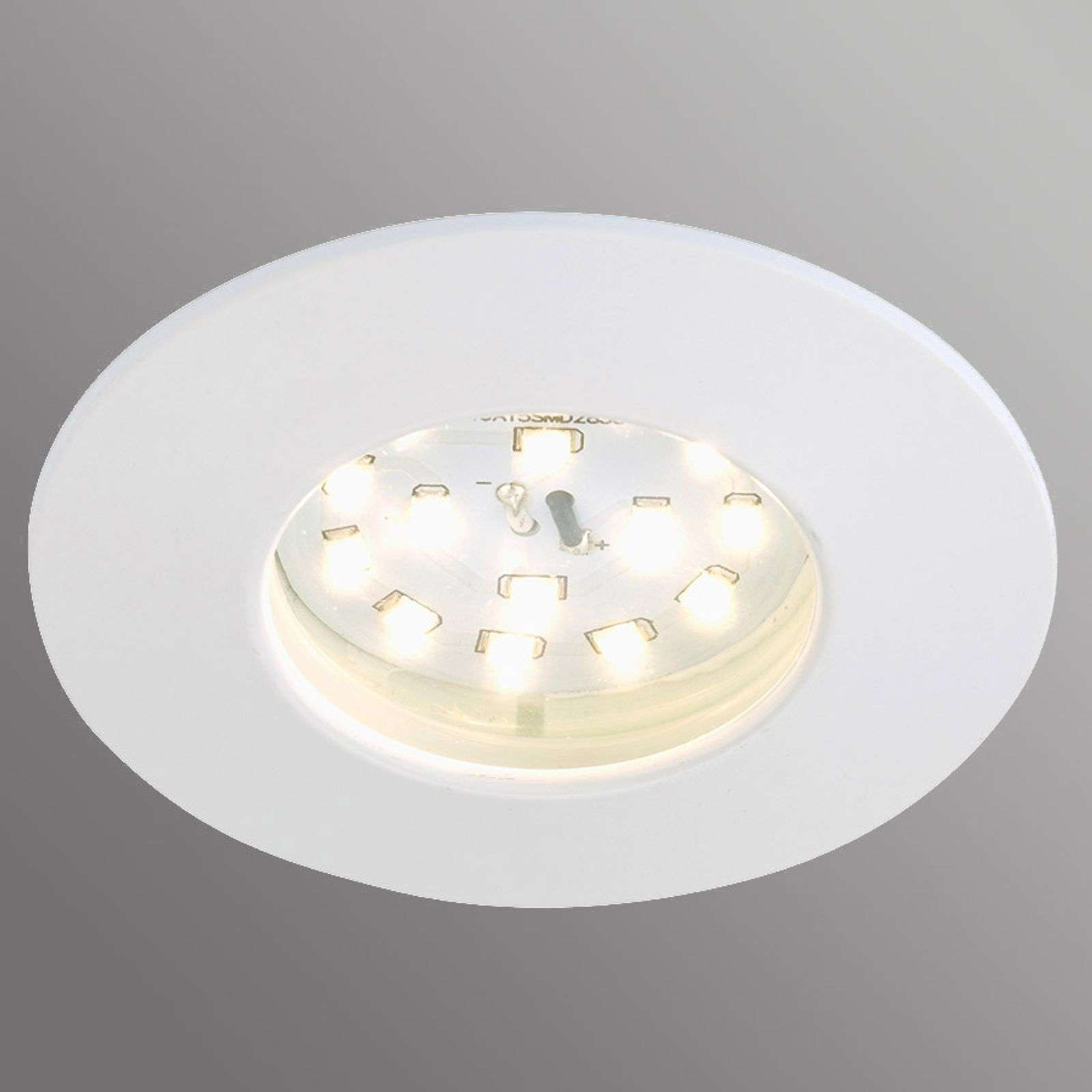 White LED recessed light Till for outdoor usage