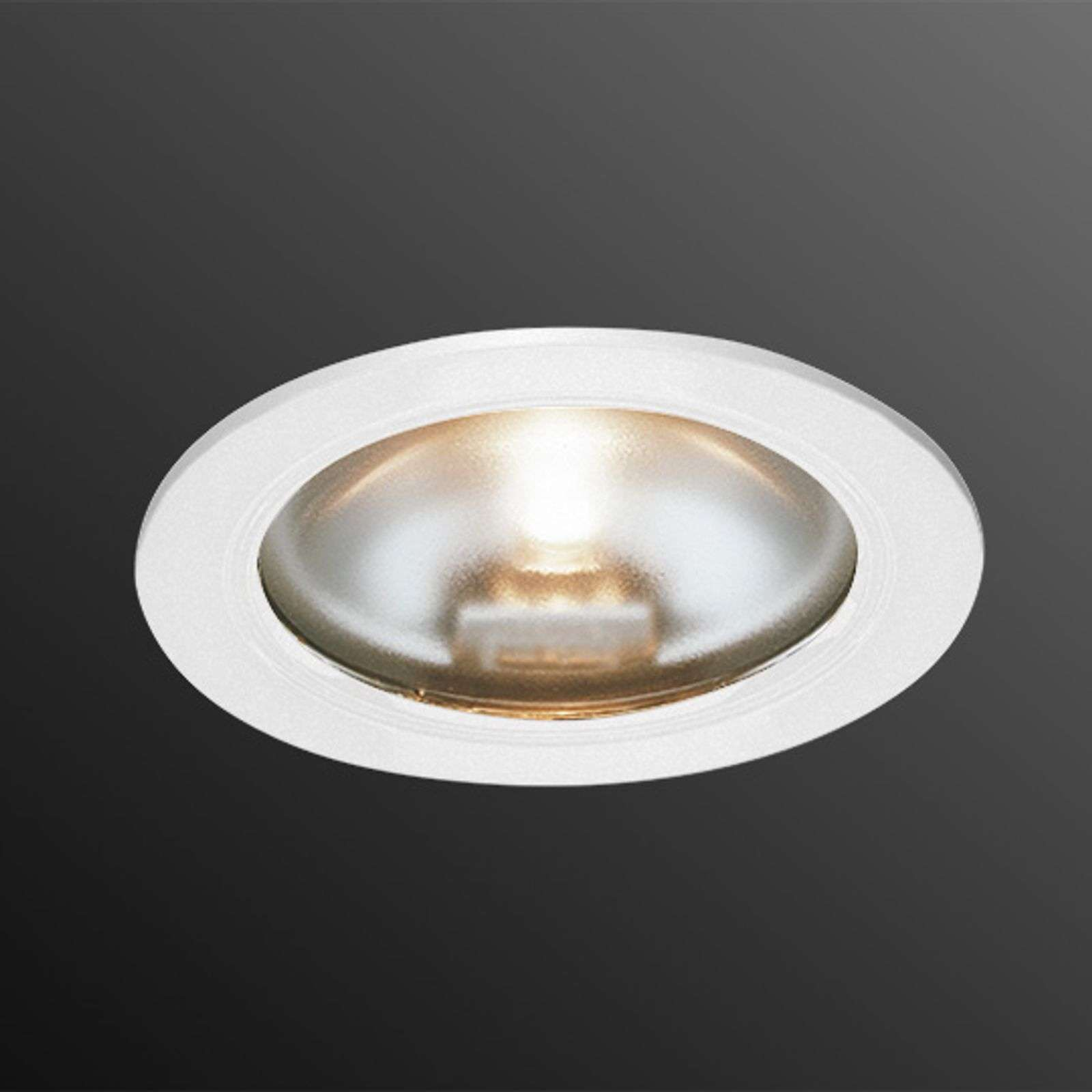 KB 12 halogen recessed light, white