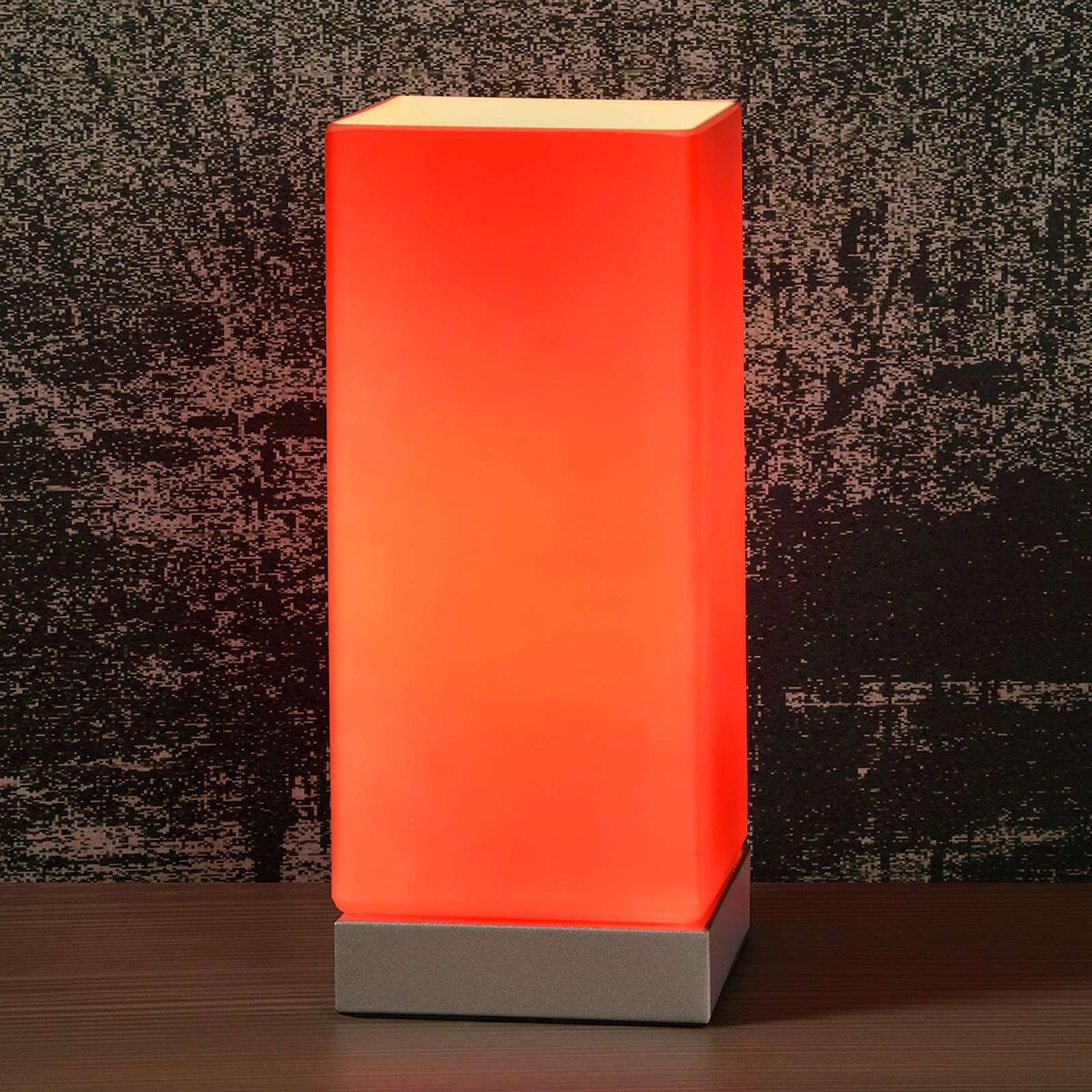 Colour-Touch table lamp in red