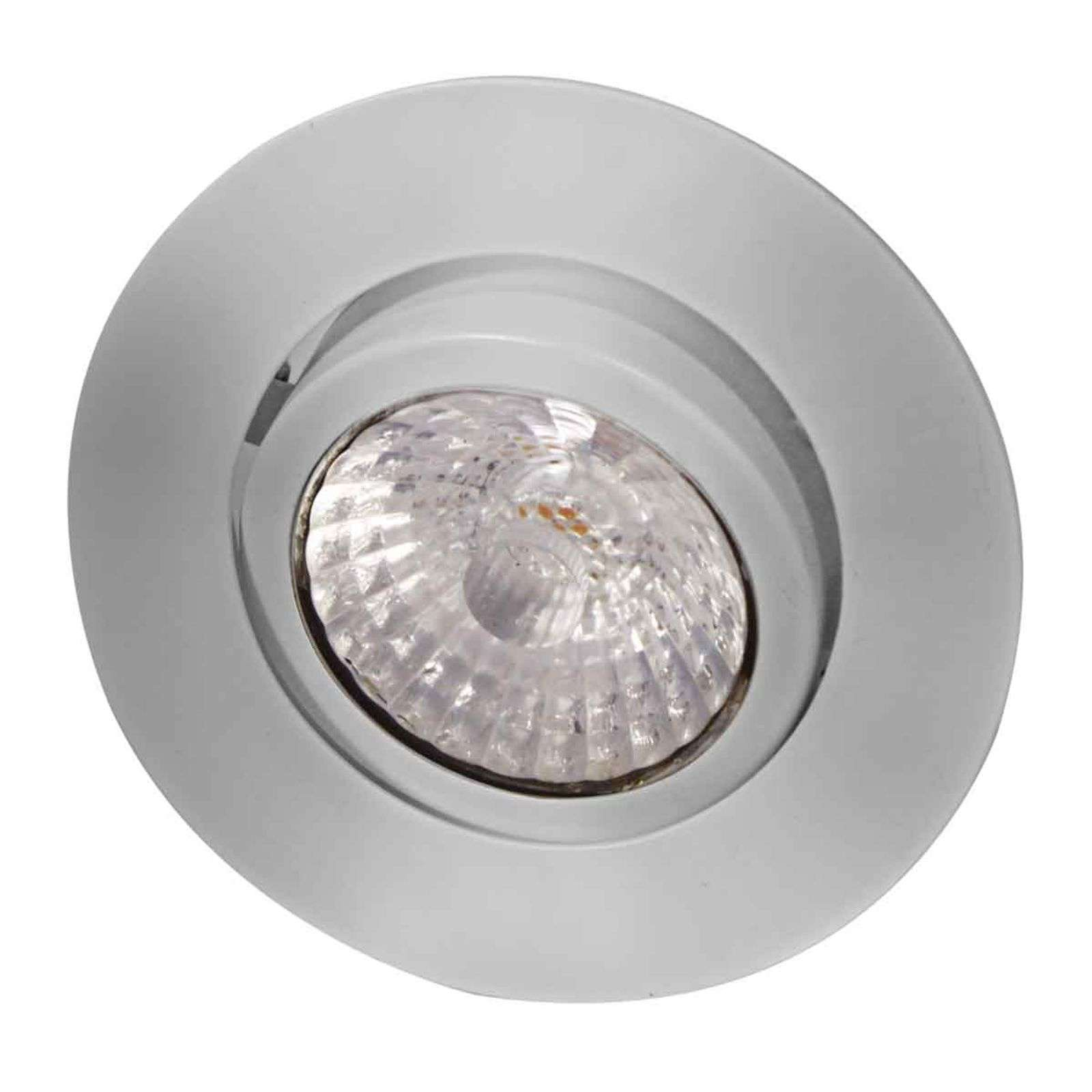 LED recessed light Rico 6.5 W brushed steel