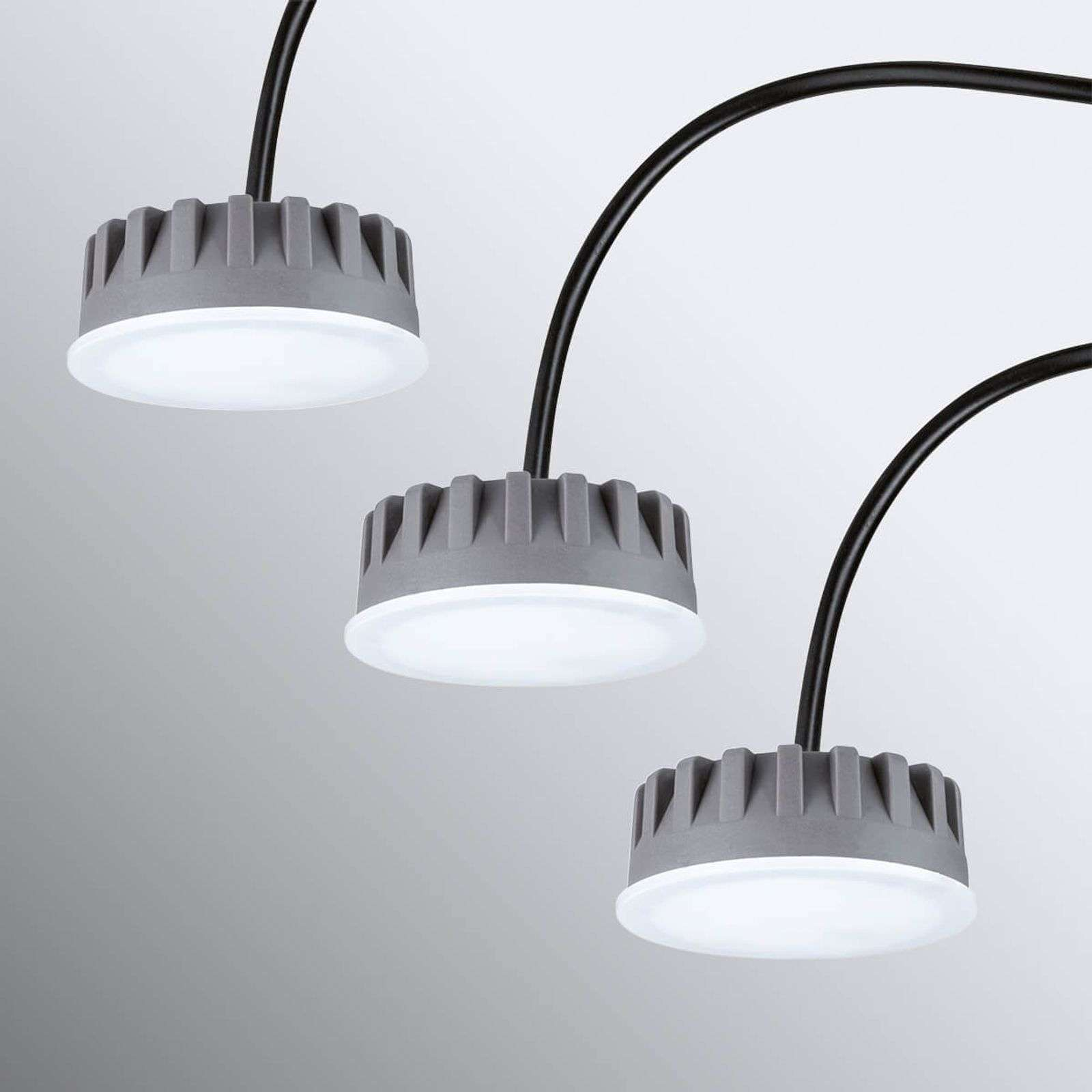 LED module Coin Slim for recessed light, set of 3