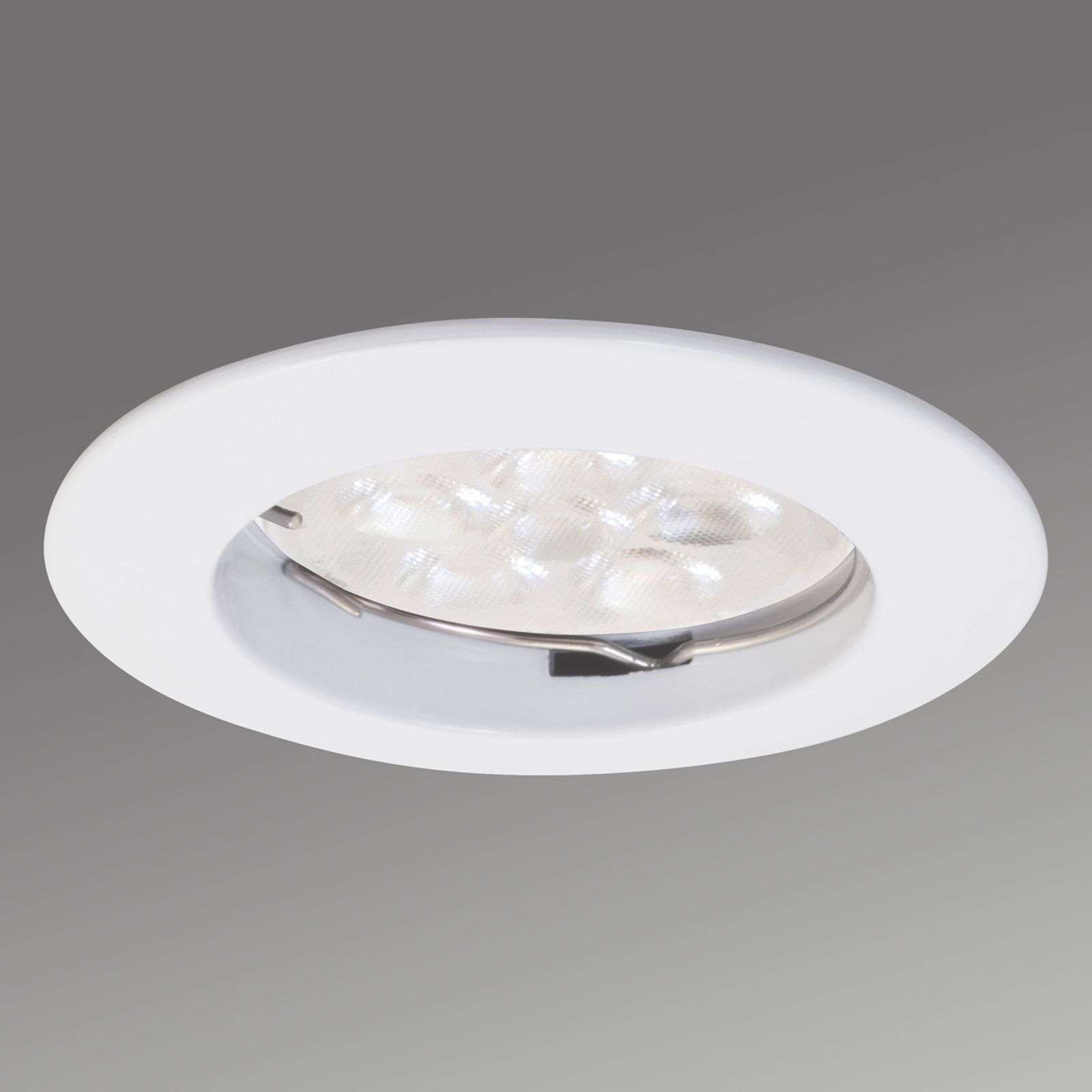 Round Downlight DIM LED recessed light in white