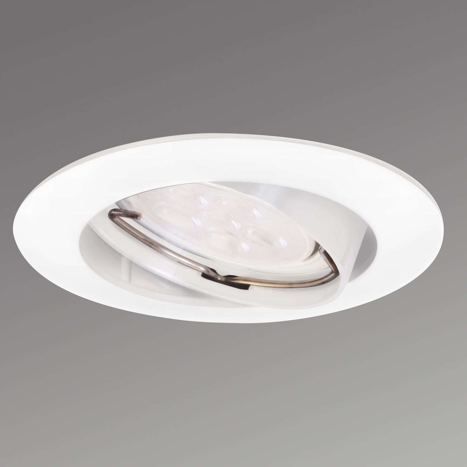 Pivotable Downlight DIM LED recessed spot white