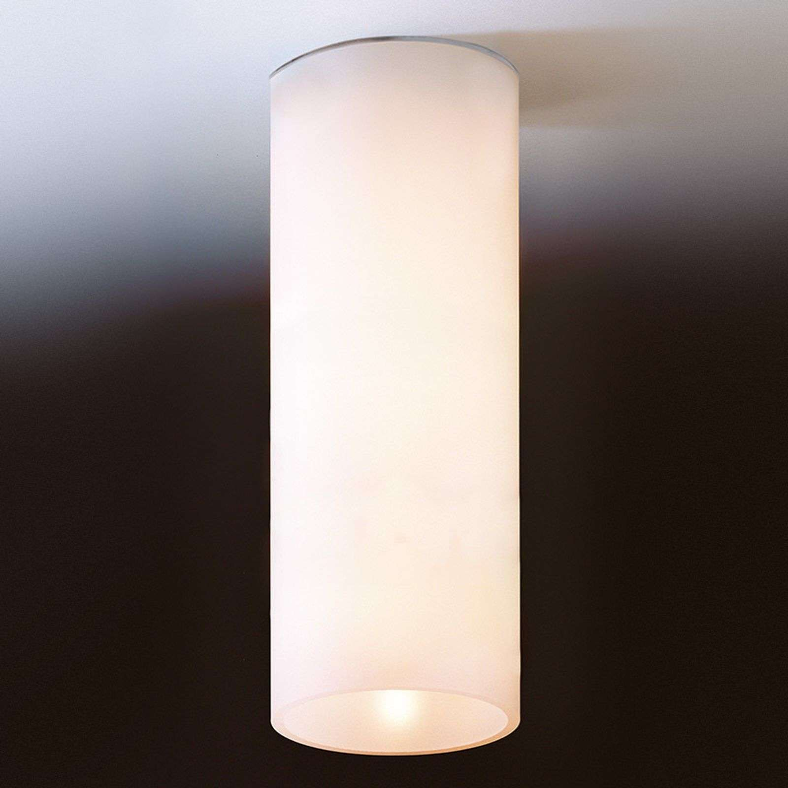 Wall lamps|Ceiling lights Simple ceiling light DELA made of white glass