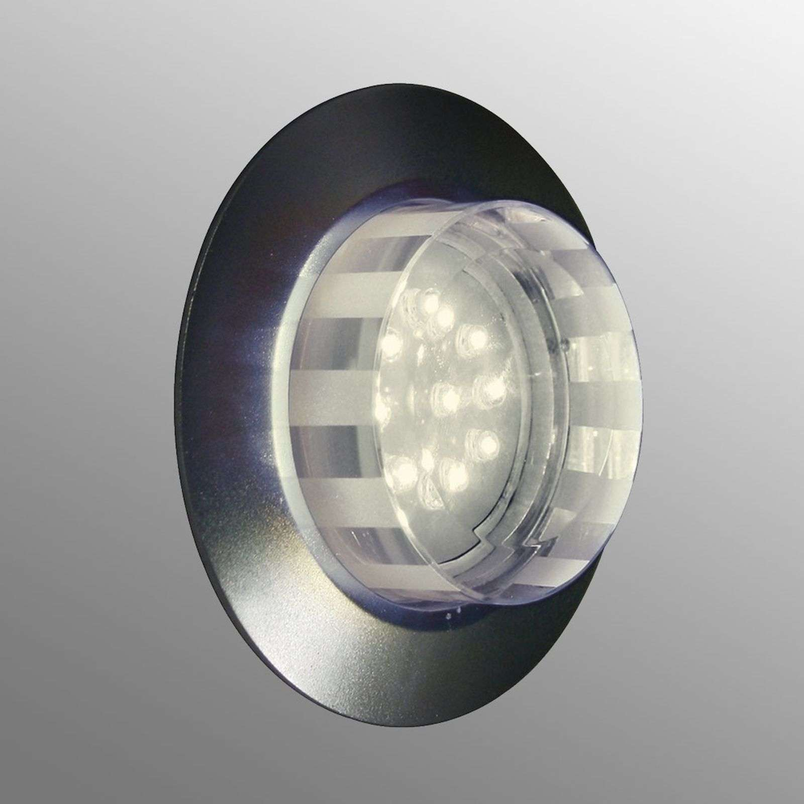 Tito LED wall recessed light, warm white