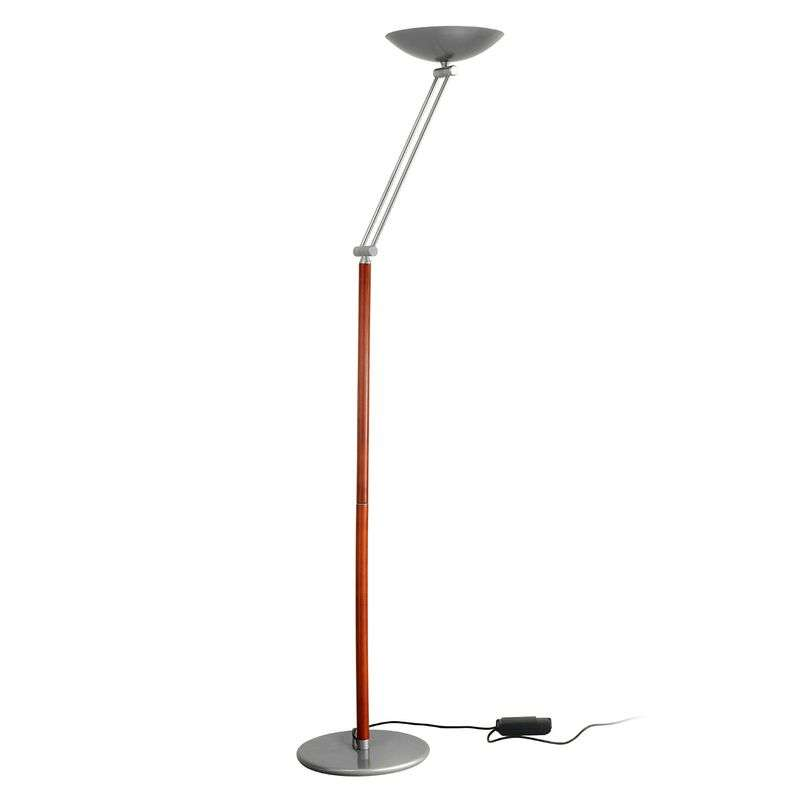 Adjustable height - uplighter Libert 4 silver