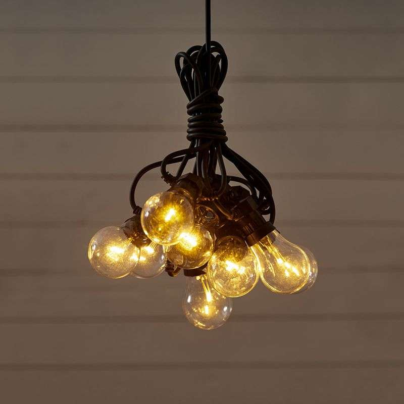 10-bulb LED string lights Circus, clear Review thumbnail