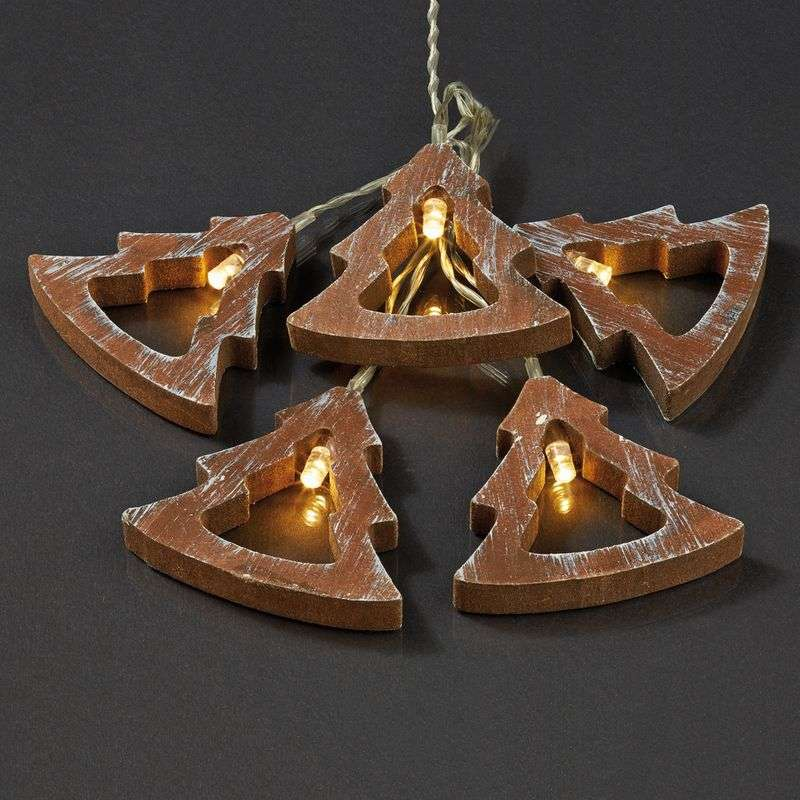 Attractive LED string lights, wood design tree Review thumbnail
