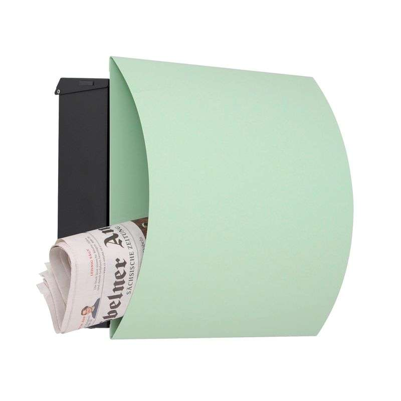 Attractive letterbox Vegas - green Review thumbnail