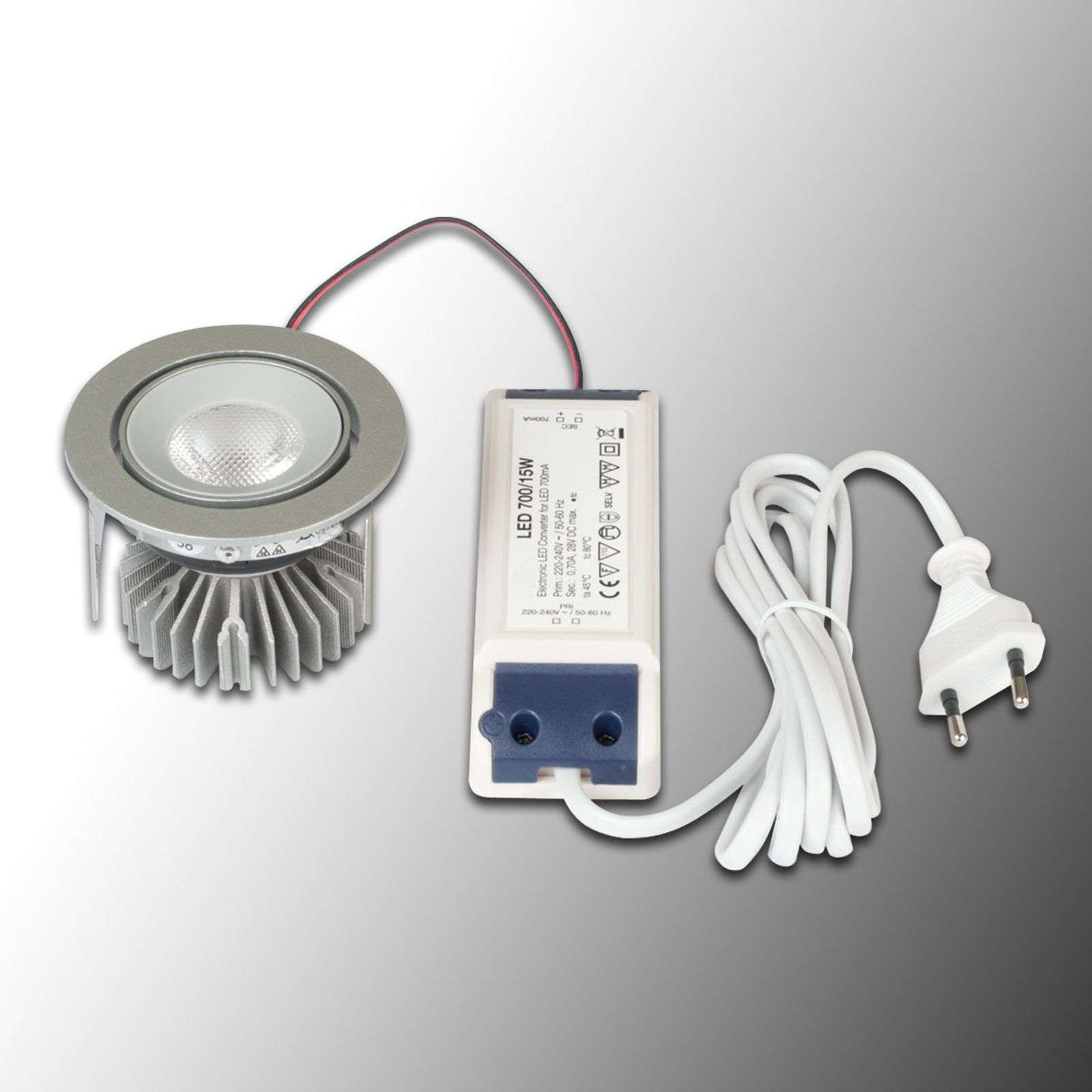 LED recessed light SR 68, 22��, 3000�K
