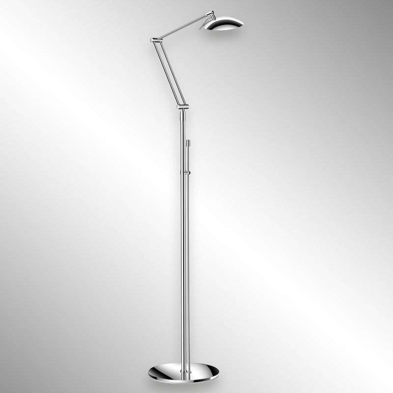 Attractive LED floor lamp CURL chrome Review thumbnail
