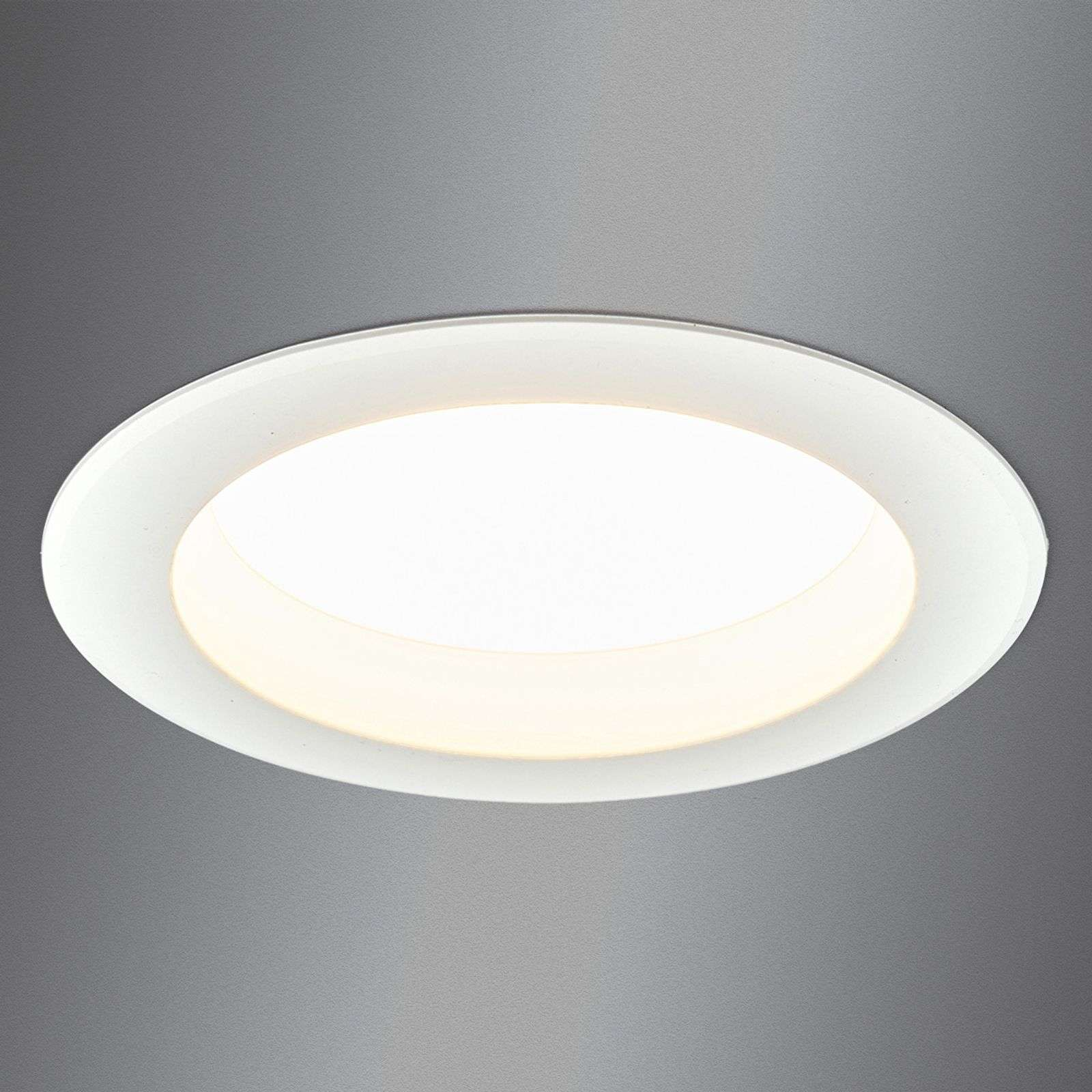 Bright LED recessed light Arian, 14.5 cm, 12.5 W