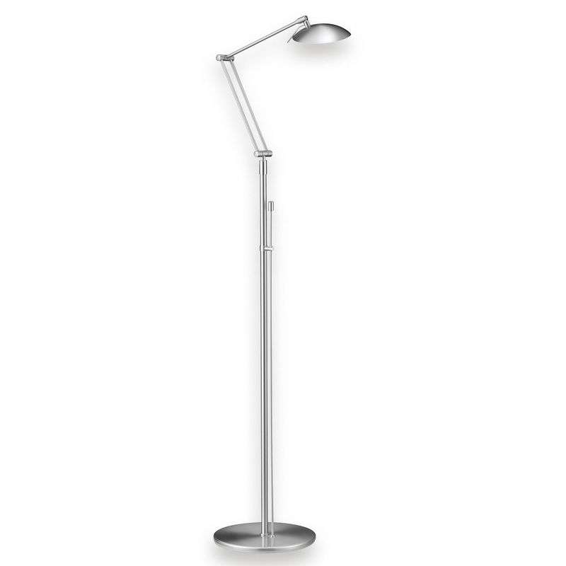 Attractive LED floor lamp Curl matt nickel Review thumbnail