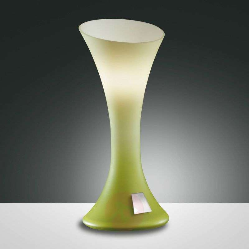 NIKITA table lamp apple green touch dimmer