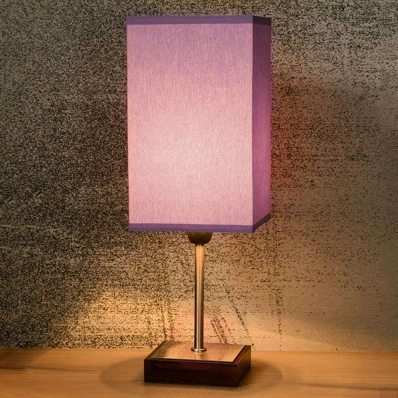 Duna-Touch table lamp in violet
