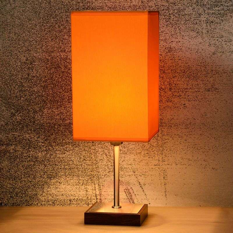 Duna-Touch table lamp in orange
