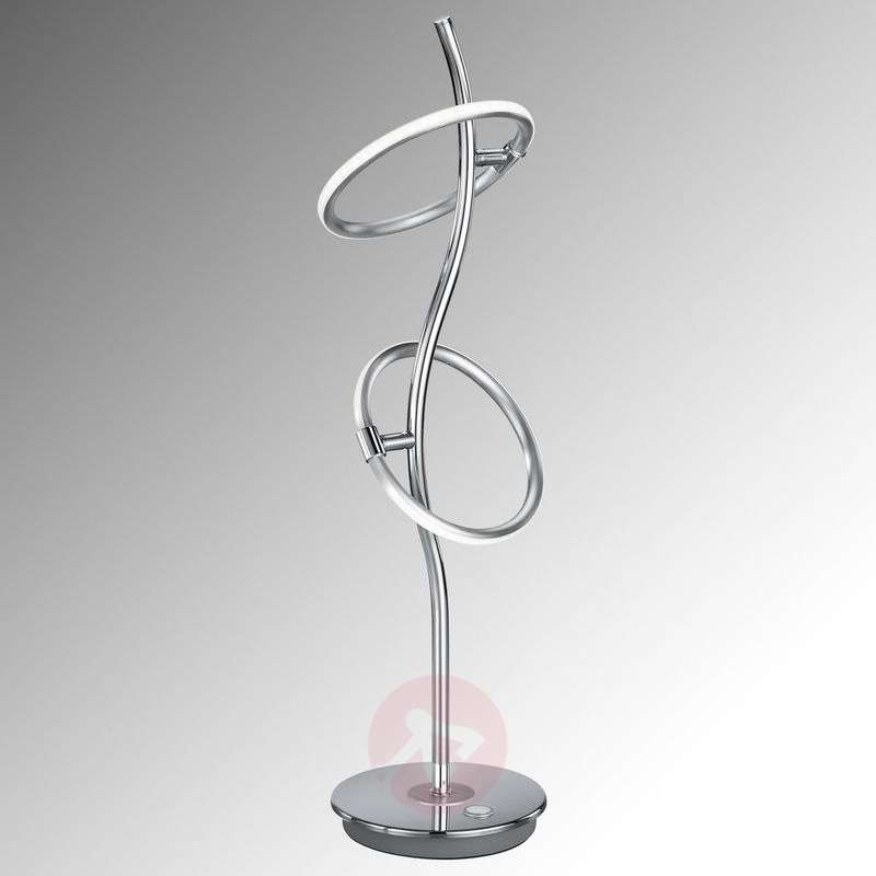 LED table lamp Olympus four-fold touch control